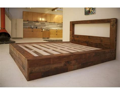 1000+ Images About Custom Wood Bed Ideas On Pinterest