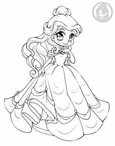 Dessin Princesse Belle Par YamPuff Coloriage Disney Adulte Artherapieca