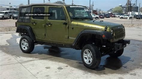 wrangler jeep 2008 2008 jeep wrangler unlimited rubicon 4 dr automatic