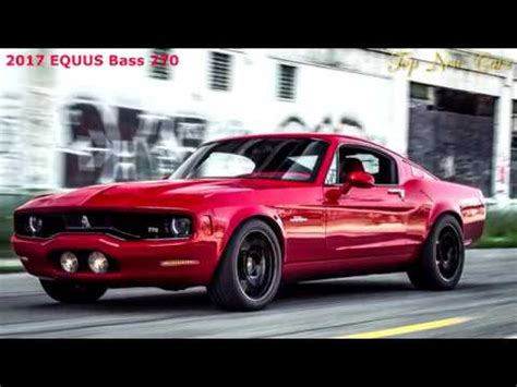 new equus bass 770 luxury american muscle cars rule youtube