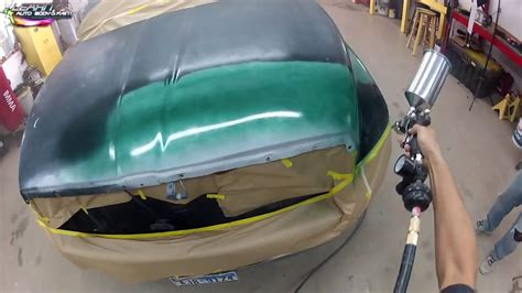 For Newbies- Auto Body And Car Painting Footage- Step By
