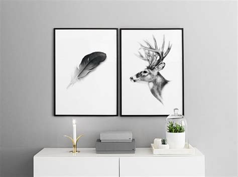 posters  animals poster  nordic animals