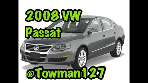 How To Unlock A 2008 Volkswagen Passat With A Dead Battery