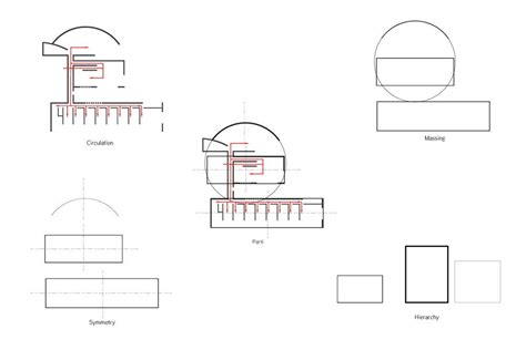 Koshino House Diagrams