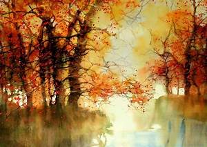 Beautiful Watercolor Landscapes (12 pieces) - My Modern Met