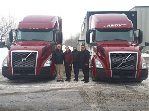 andy transport signs purchase order    volvo