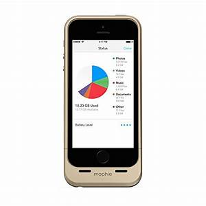 Mophie Space Pack for iPhone 5/5s with 32GB of built-in ...