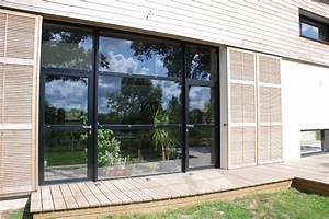 Fenetre Alu Noir : la fen tre alu agence briques en stock ~ Edinachiropracticcenter.com Idées de Décoration