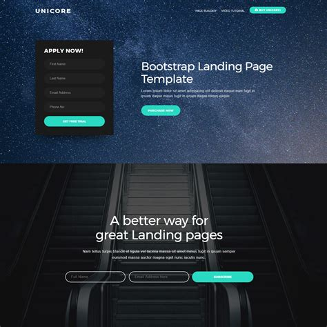 bootstrap themes expected     top