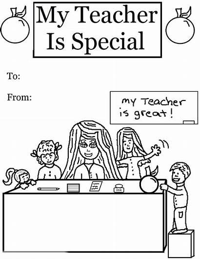 Teacher Coloring Special Pre Printable Sheets Church