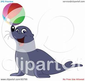 Royalty-Free (RF) Clipart Illustration of a Cute And ...