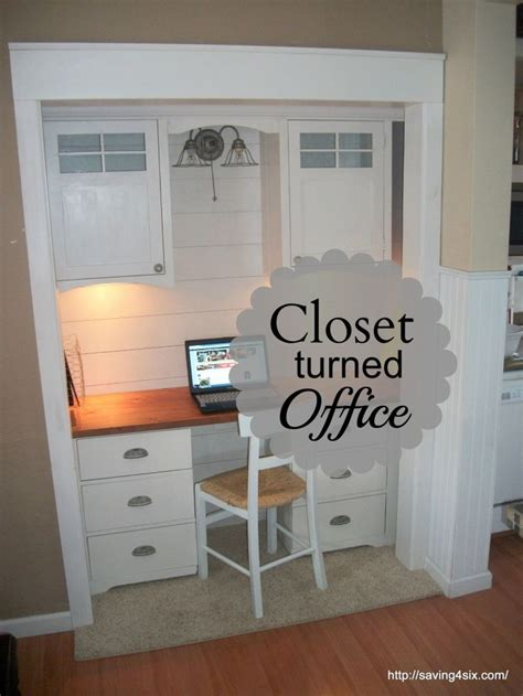 best 25 closet turned office ideas on office