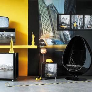 Décoration New York Chambre : d coration new york chambre maison du monde ~ Melissatoandfro.com Idées de Décoration