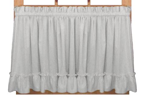 Stephanie Solid Color Country Ruffled Shaped Valance Window Curtain Green Building Curtain Wall Crystal Ball Rod Finial Typical Details Harry Corry Curtains Newry Seagram How To Put On A Big Window Small Windows Design Style Selections Thermal Blackout Roberta Brick