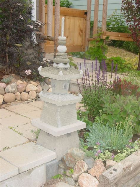 japanese garden planters the japanese garden pagoda i built by using plastic plant pots and cement plastic plant pots