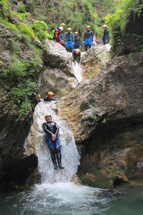 Canyoning in the Sušec Canyon - Slovenia | Bovec Rafting ...