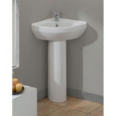 small pedestal sink cheviot corner pedestal sink c944 vintage tub