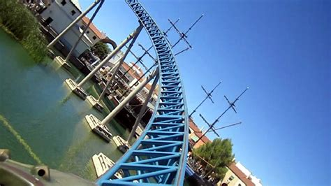 furius baco front seat on ride hd portaventura park