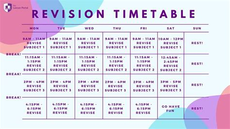 ultimate revision timetable revision timetable medical