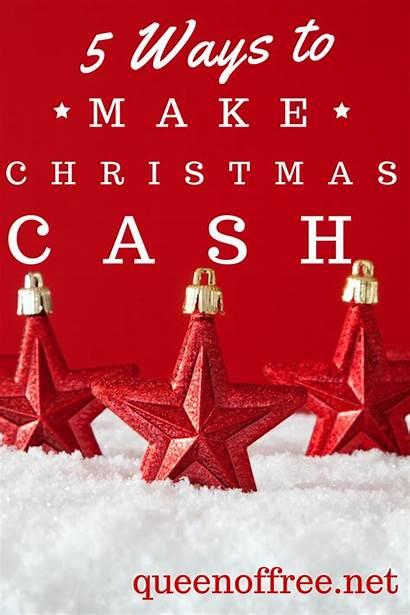 Christmas Money Making Cash Lowe Cherie December