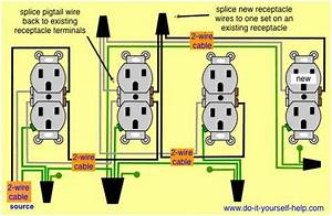 Home Wiring Diagrams Switch Outlet
