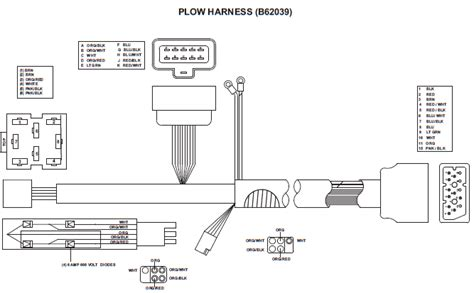 Hitch Snow Plow Wiring Diagram Power by 62057 Blizzard Plow Side Wiring Harness Power Hitch 1