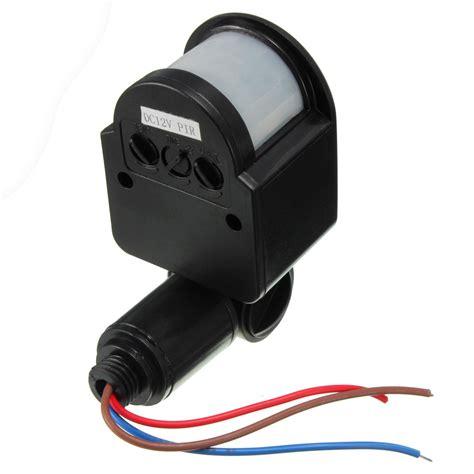 light sensor switch outdoor 12v dc automatic infrared pir motion sensor switch