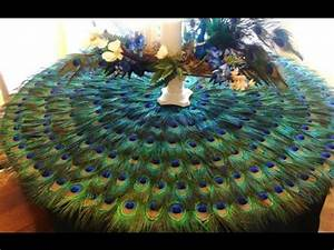 Peacock Decor~Peacock Decorations For Birthday Party - YouTube