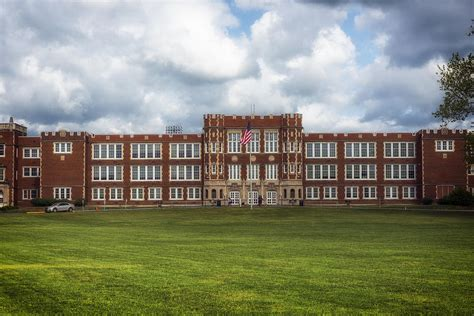 Historic Parkersburg High School Photograph by Mountain Dreams