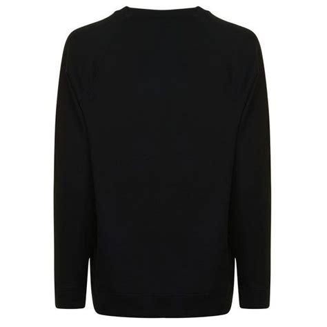 valentino sweatshirt vltn siyah erkek maslak outlet