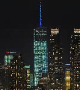 one world trade center will light it up blue on april 2