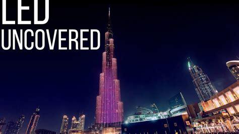 led exterior facade  burj khalifa uncovered youtube