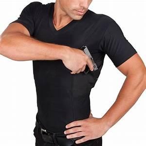 Men's Concealment V-Neck Single Shirt UnderTech Undercover ...