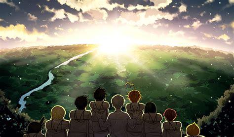 hd wallpaper anime  promised neverland wallpaper flare