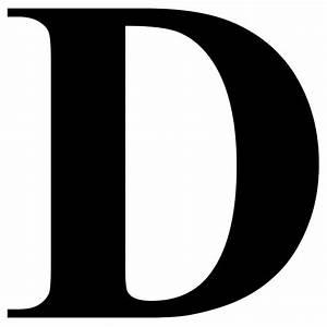 Letter D In Different Fonts - Letters Font