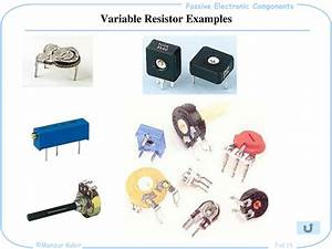 an exle of a variable resistor - 28 images - resistors ...