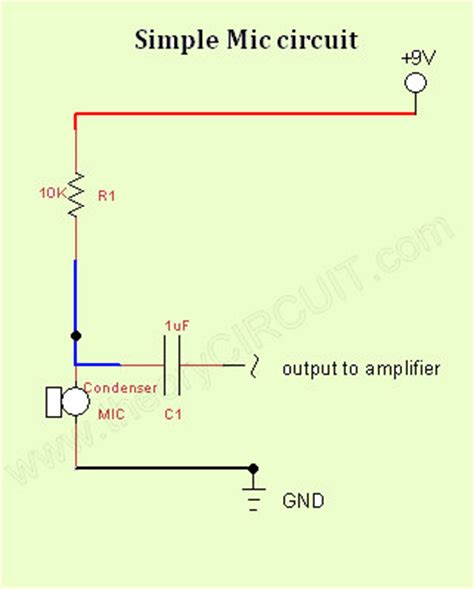 Simple Mic Circuit Theorycircuit Yourself