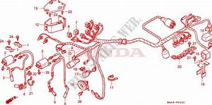 Wire Harness  Vt1100c2  For Honda Vt 1100 Shadow C2 1996