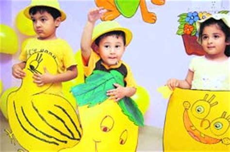 yellow day celebration in preschool the tribune chandigarh india ludhiana stories 143