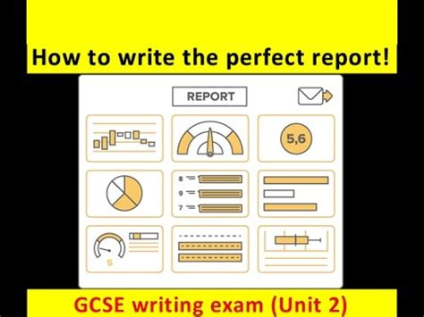 gcse english language report writing   updated