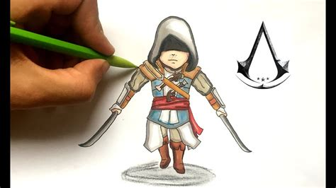 dessin edward kenway chibi assassins creed youtube