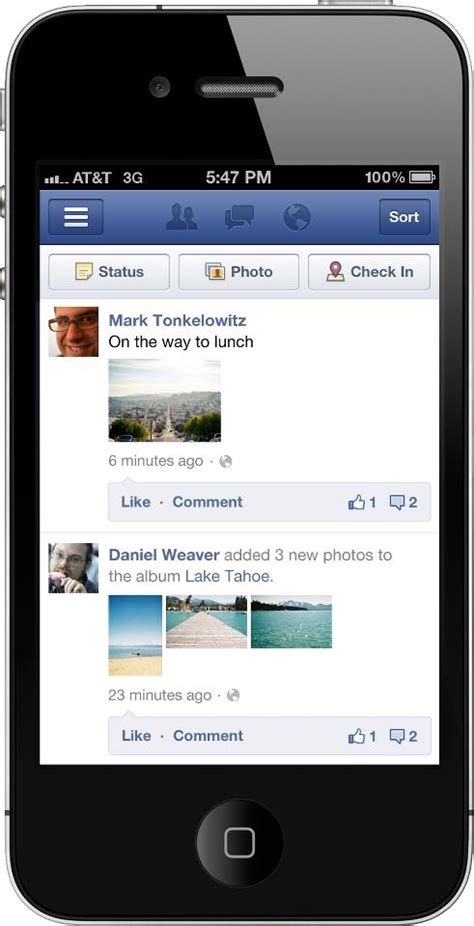 Facebook introduces Timeline for mobile users: Update for ...