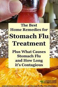 The Best Home Remedies for Stomach Flu Treatment - Total ...