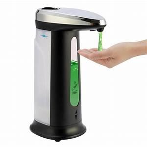 400ml Liquid Soap Dispenser Smart Sensor Hands