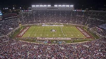 Florida State Football Stadium Doak Campbell Players