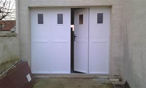 portes de garage sectionnelles laterales et battantes With porte de garage pliante 4 vantaux
