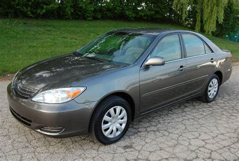 2002 Toyota Camry by 2002 Toyota Camry Le 4d Sedan 5 Speed Manual