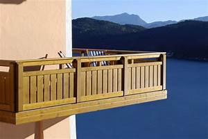 Balkonverkleidung Aus Holz : holz balkone f r genie er ~ Lizthompson.info Haus und Dekorationen