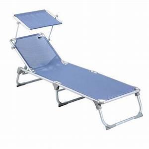 Transat De Plage Pliant Leger : transat bain de soleil trigano pliant avec pare soleil ~ Dailycaller-alerts.com Idées de Décoration