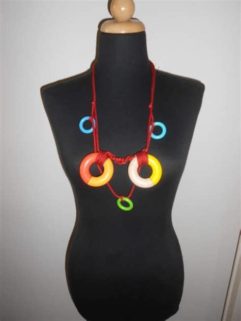 Upcycled Wooden Toys Into Necklaces ? Recyclart